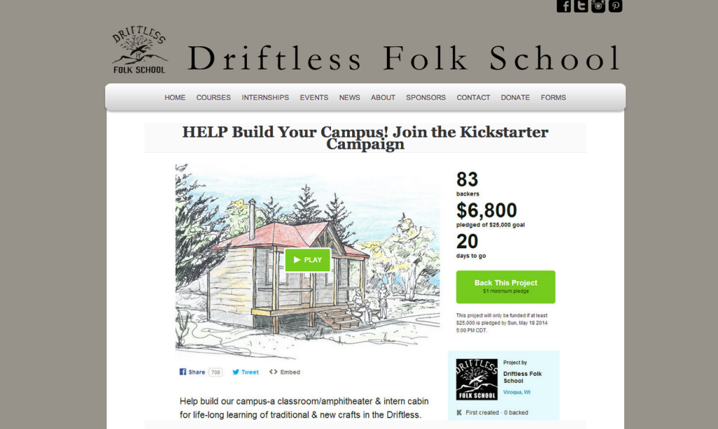 Driftless Folk School