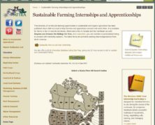 Sustainable Farming Internships and Apprenticeships (Courtesy NCAT)