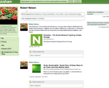 Ozoshare Sustainable Living Social Network